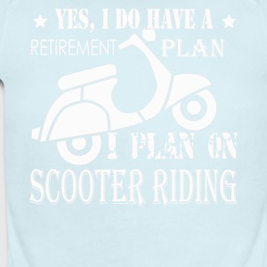 SCOOTER RIDING TEE SHIRT - Short Sleeve Baby Bodysuit