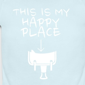 Happy Place Western Riding - Short Sleeve Baby Bodysuit