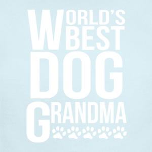World's Best Dog Grandma - Short Sleeve Baby Bodysuit