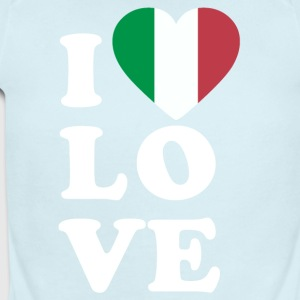 I love Italy - Short Sleeve Baby Bodysuit