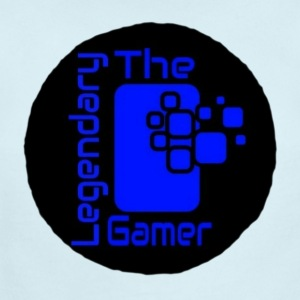 The Legendary Gamer Official logo - Short Sleeve Baby Bodysuit