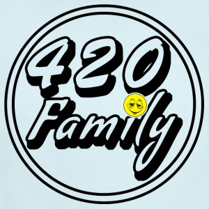 420 Family Smiley - Short Sleeve Baby Bodysuit