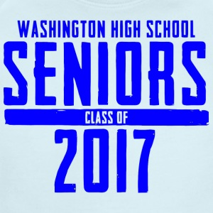Washington High School Seniors Class of 2017 - Short Sleeve Baby Bodysuit