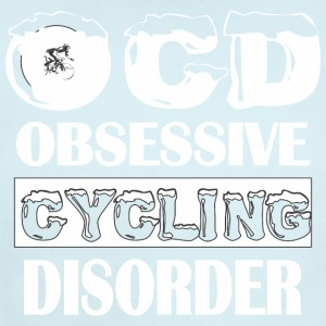 OCD Obsessive Cycling Disorder - Short Sleeve Baby Bodysuit
