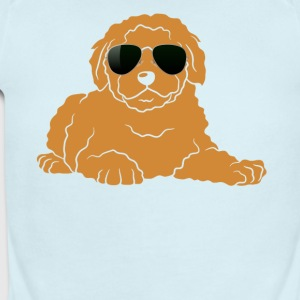Doodle With Glasses Shirt - Short Sleeve Baby Bodysuit