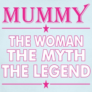 Mummy The Woman The Myth The Legend - Short Sleeve Baby Bodysuit