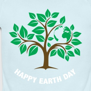 Happy Earth Day T shirt Gift, Save The Earth Shirt - Short Sleeve Baby Bodysuit