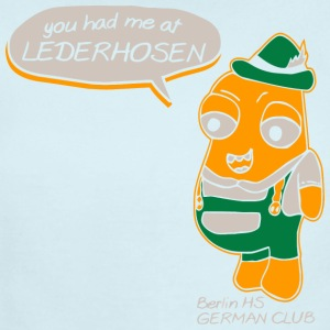 You Had Me At Lederhosen Berlin HS German Club - Short Sleeve Baby Bodysuit