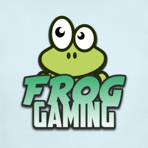 Frog Gaming Logo Transparent - Short Sleeve Baby Bodysuit