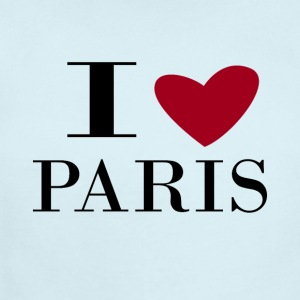 I love Paris - Short Sleeve Baby Bodysuit