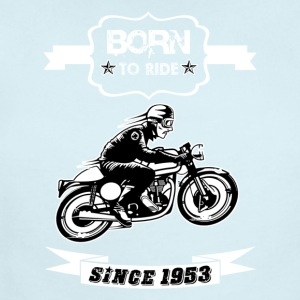 BORN TO RIDE SINCE 1953 - Short Sleeve Baby Bodysuit