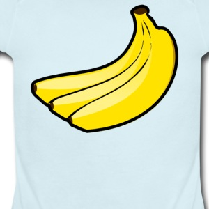 Bananas - Short Sleeve Baby Bodysuit