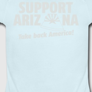 Support Arizona - Short Sleeve Baby Bodysuit
