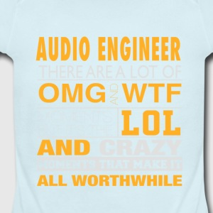 AUDIO ENGINEER - LOL WTF - Short Sleeve Baby Bodysuit