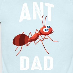 Ant Dad - Short Sleeve Baby Bodysuit