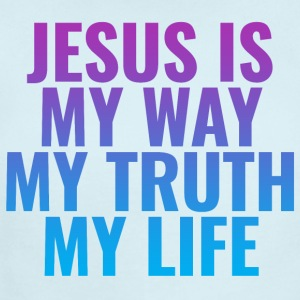 Jesus is MY Way, MY Truth and MY Life! - Short Sleeve Baby Bodysuit