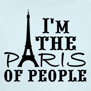 I'm the Paris of people! - Short Sleeve Baby Bodysuit