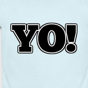 Yo! - Short Sleeve Baby Bodysuit