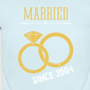 Married since 2004 - Short Sleeve Baby Bodysuit