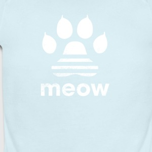 cat meow classic shirt tshirt t shirt - Short Sleeve Baby Bodysuit