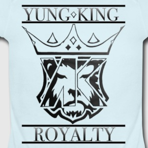 YUNG KING ROYALTY CREST - Short Sleeve Baby Bodysuit