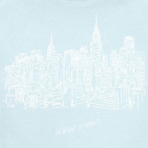 New York City - United States - Short Sleeve Baby Bodysuit