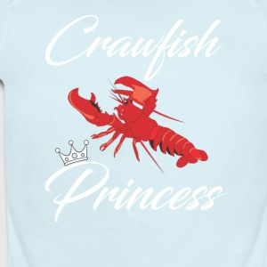 Crawfish Princess T-Shirt - Short Sleeve Baby Bodysuit