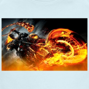 The Ghost Rider - Short Sleeve Baby Bodysuit