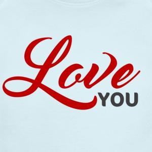 2 love you - Short Sleeve Baby Bodysuit