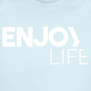Enjoy Life - Short Sleeve Baby Bodysuit