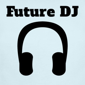 Future DJ Headphones - Short Sleeve Baby Bodysuit