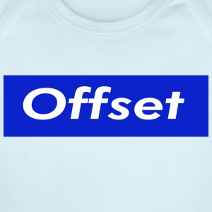 Offset - Short Sleeve Baby Bodysuit