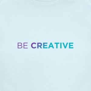 Be Creative x2 Colors - Short Sleeve Baby Bodysuit