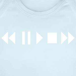 Play Pause Rewind - Short Sleeve Baby Bodysuit