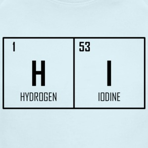 HI - Periodic Table Design - Short Sleeve Baby Bodysuit