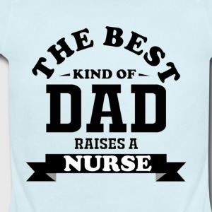 Fathers day gift nurse - Short Sleeve Baby Bodysuit