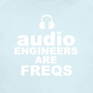 Audio Freqs - Short Sleeve Baby Bodysuit