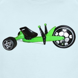 GREEN MACHINE - Short Sleeve Baby Bodysuit
