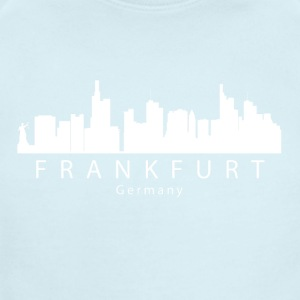 Frankfurt Germany Skyline - Short Sleeve Baby Bodysuit