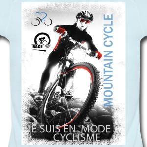 MOUNTAIN CYCLE - Short Sleeve Baby Bodysuit