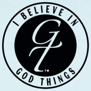I Believe In God Things Classic Design - Short Sleeve Baby Bodysuit