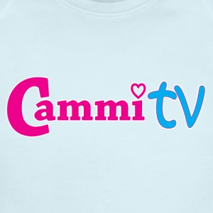 Cammi TV Logo Horizontal - Short Sleeve Baby Bodysuit