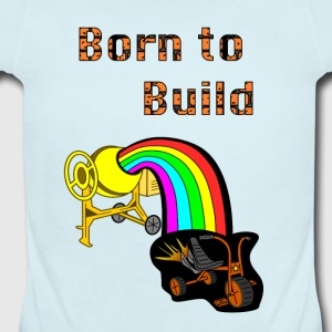 Born to Build - Short Sleeve Baby Bodysuit