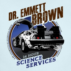 Dr. Emmett Brown Science Services - Short Sleeve Baby Bodysuit
