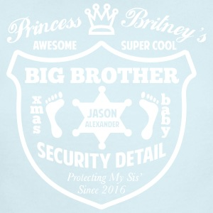 Big Brother Security Detail Shirt - Short Sleeve Baby Bodysuit