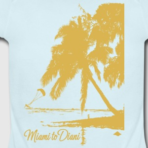 Miami To Diani Gold Collection - Short Sleeve Baby Bodysuit