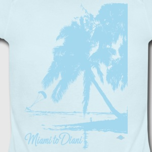 Miami To Diani Limited Edition Island Tshirt - Short Sleeve Baby Bodysuit