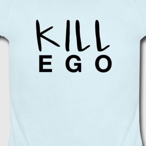 Kill Ego! - Short Sleeve Baby Bodysuit