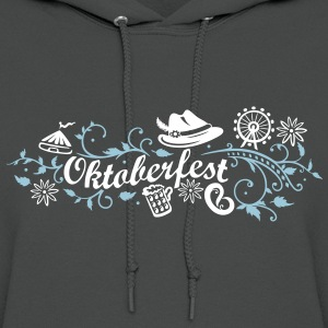 Oktoberfest decoration with traditional elements - Women's Hoodie