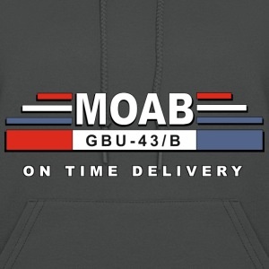 MOAB- Mother Of All Bomb - Women's Hoodie